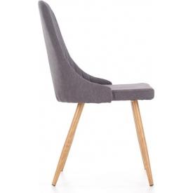 Designerski Fotel biurowy Photon Halmar. Kolor różowy, Materiał: ekoskóra, Styl nowoczesny.
