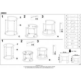 Stylowy Stół prostokątny Cohen 120 Maduu Studio do jadalni. Kolor dąb z białym, stelaż/podstawa metalowa. Styl skandynawski.