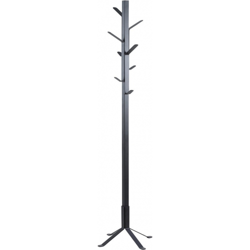 Vinson black metal coat stand Actona