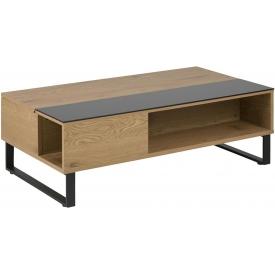 Tapicerowane krzesło DSW Patchwork White D2.Design do jadalni. Kolor: niebiesko szary, multikolor, brązowy, stelaż/podstawa drew