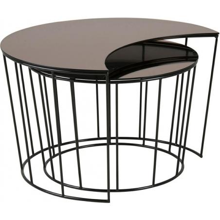 Tapicerowane krzesło DSW Pattern Black