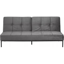 Fotel z podnóżkiem Snug szary jasny