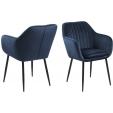 Krzesło Paris Arms Wood Orzech Szczotkowany