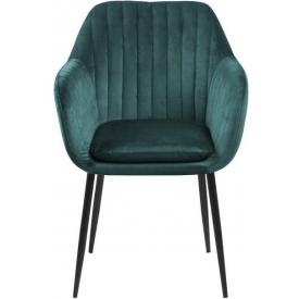 Designerskie Krzesło metalowe Paris Wood Orzech Szczotkowany D2.Design do kuchni. Kolor biały, czarny, zielony, czerwony