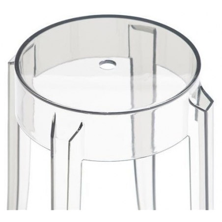 Foxy 66 transparent bar stool D2.Design