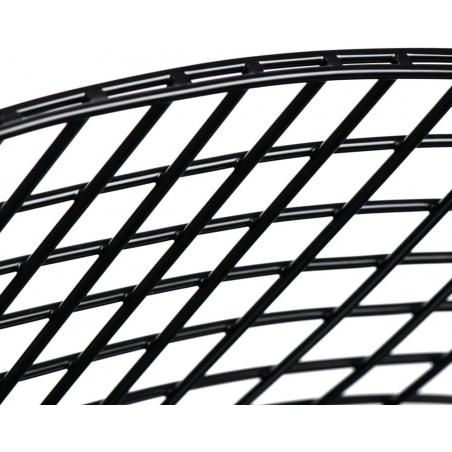 Designerskie Krzesło druciane Harry Arm Black D2.Design do kuchni. Kolor czarny.