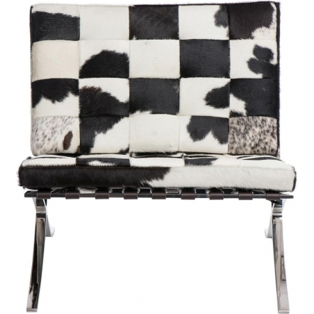 Designerski Fotel Barcelon Pony Multikolor D2.Design do salonu i sypialni.