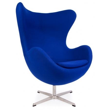 Jajo Chair Cashmere blue swivel armchair D2.Design