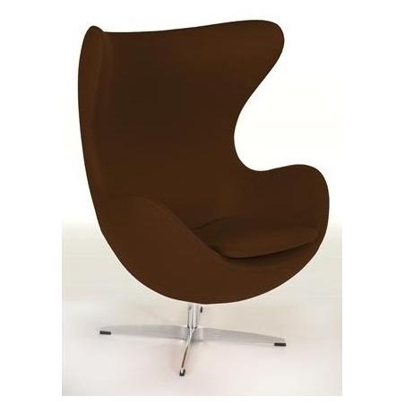 Jajo Chair Cashmere brown swivel armchair D2.Design