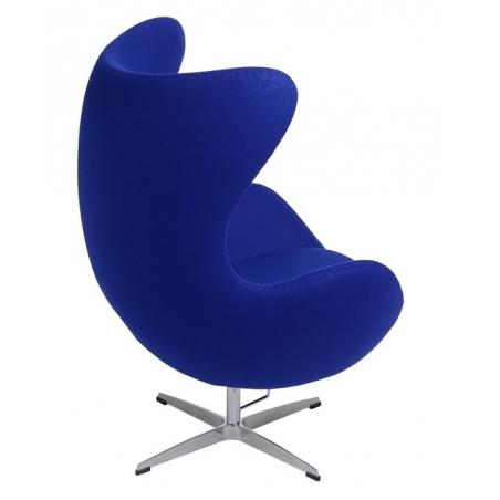 Jajo Chair Cashmere deep blue swivel armchair D2.Design
