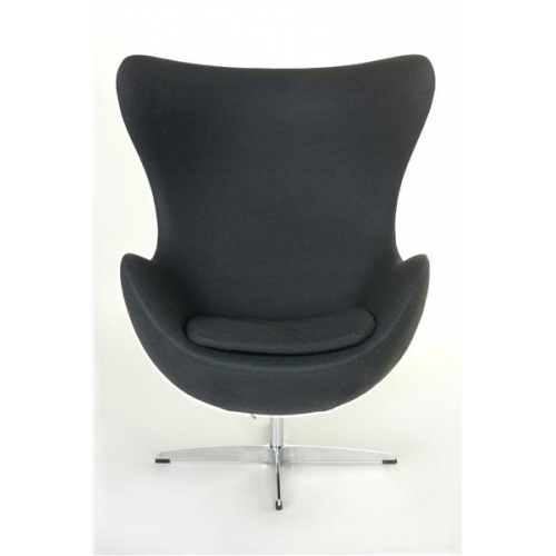Jajo Chair Cashmere dark grey swivel armchair D2.Design