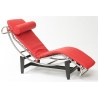 Chaise LC red leather lounge D2.Design