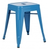 Paris custom colour industrial metal stool D2.Design