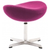 Jajo Chair Amarant upholstered footstool insp. D2.Design
