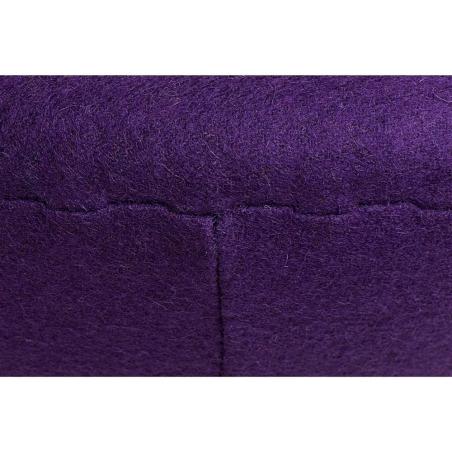 Jajo Chair light purple upholstered footstool insp. D2.Design