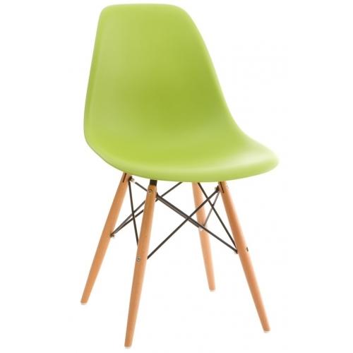 Designerskie Krzesło DSW Armless z tworzywa D2.Design do jadalni. Kolor czarny