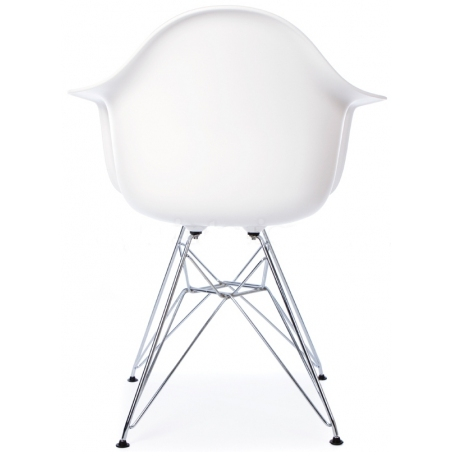 DAR Arm Chair white chair with armrests D2.Design