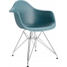 DAR Arm Chair dark green chair with armrests D2.Design