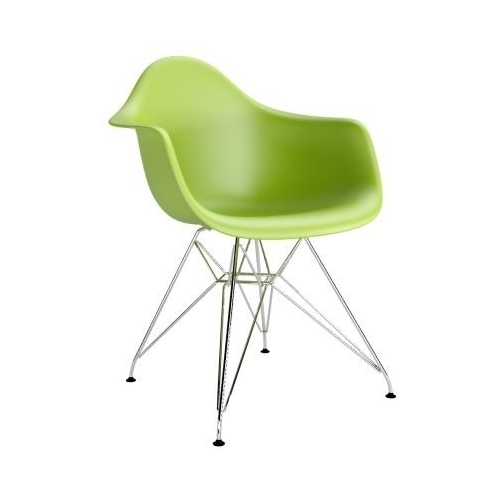 DAR Arm Chair green chair with armrests D2.Design