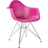 DAR Arm Chair pink chair with armrests D2.Design