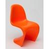 Designerskie Krzesło dziecięce Balance Pomarańczowe D2.Design do kuchni i salonu.