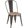 Paris Wood natural&metalic metal chair D2.Design