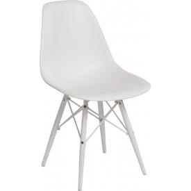 Designerski Okrągły stolik kawowy Tipton 45 Actona do salonu. Kolor dąb, stelaż/podstawa metalowa.