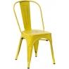 Designerskie Krzesło metalowe Paris Antique D2.Design do kuchni. Kolor biały