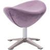 Jajo Velvet purple velvet footstool D2.Design