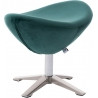 Jajo Velvet dark green velvet footstool D2.Design