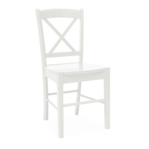 CD56 Wooden white wooden chair Signal