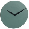 Modern dark green round wall clock J-LINE