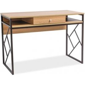 Stylowa Lampa stołowa industrialna GOTHAM Trio do salonu. Kolor srebrno szary. Cena - 245,00 PLN.
