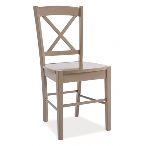 CD56 Wooden taupe wooden chair Signal