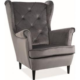 Tapicerowane krzesło Toledo II Halmar do jadalni. Kolor: grafitowy, turkusowy, jasno beżowy, podstawa drewniana.Cena: 315 PLN