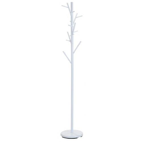 Zen white metal coat stand Signal