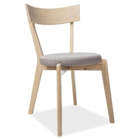Nelson grey wooden chair...