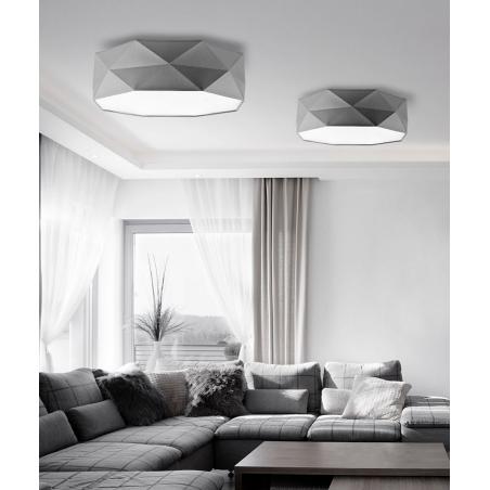 Kantoor 52 white ceiling lamp TK Lighting