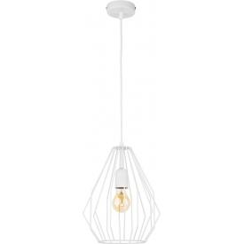 Lampa wisząca druciana szara BRYLANT 24 TK Lighting