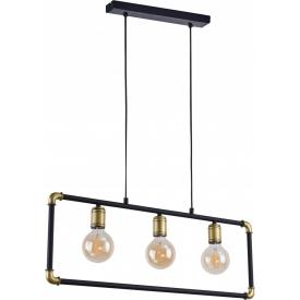 Kinkiet szklany z włącznikiem POBO II TK Lighting do sypialni. Kolor dymiony, Kształt kulisty i półkulisty, Styl industrialny.