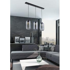 Lampa sufitowa druciana czarna Alano III TK Lighting