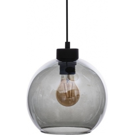 Stylowa LAMPA WISZĄCA STEEL ORBIT 50 TK Lighting do salonu. Kolor biały, Styl nowoczesny.