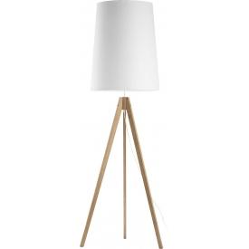 Stylowa Lampa podłogowa druciana DIAMOND 39 TK Lighting do czytania. Kolor biały, szary, czarny. Styl industrialny.
