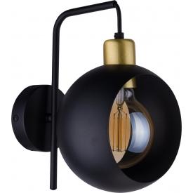 Kinkiet ścienny druciany BRYLANT II 17 TK Lighting do sypialni. Kolor: biały, szary, czarny w cenie 145,00 PLN. Styl industrialn