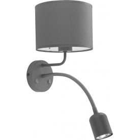 Stylowa LAMPA Sufitowa AMBER V TK Lighting do salonu. Kolor czarny, Styl industrialny.
