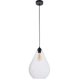 Stylowa Lampa wisząca skandynawska DONG Wood 20 TK Lighting do salonu. Kolor biały, szary, czarny.