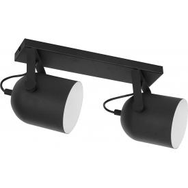 Stylowa LAMPA STOŁOWA POBO 22 TK Lighting do salonu. Kolor dymiony, Styl industrialny.