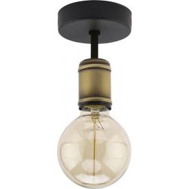 Stylowa Lampa podłogowa industrialna Retro TK Lighting do salonu. Kolor czarny w cenie 189,00 PLN.