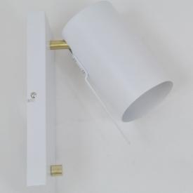 Stylowy Kinkiet skandynawski AIDA 12 TK Lighting do salonu. Kolor biały.