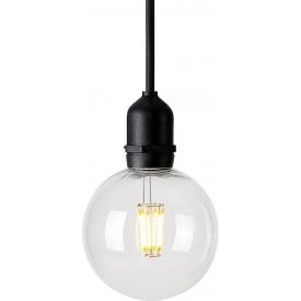 Stylowa Lampa zewnętrzna wisząca Garden LED Czarna Markslojd przed dom, na taras i do ogrodu.